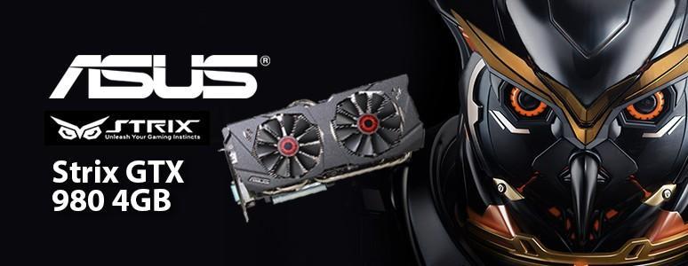 [XF]高效靜音Strix梟鷹系列ASUS GTX 980 4GB顯示卡效能測試