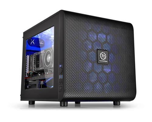 曜越推出全新Core V21平躺式 M-ATX概念機殼