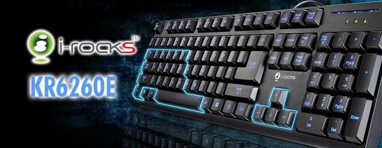 [XF] 千元有找遊戲鍵盤i-rocks KR6260E閃亮登場