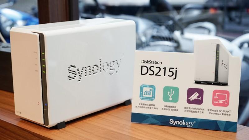 預載 DSM 5.1 的 Synology DS215j 在台登場,建議售價 NT,499