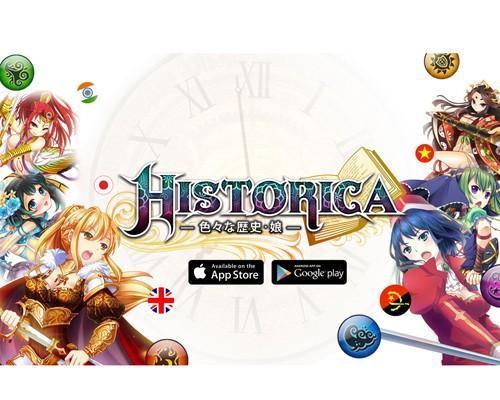 日系RPG手遊《HISTORICA》強推iOS版 全世代歷史娘萌爆APP STORE!