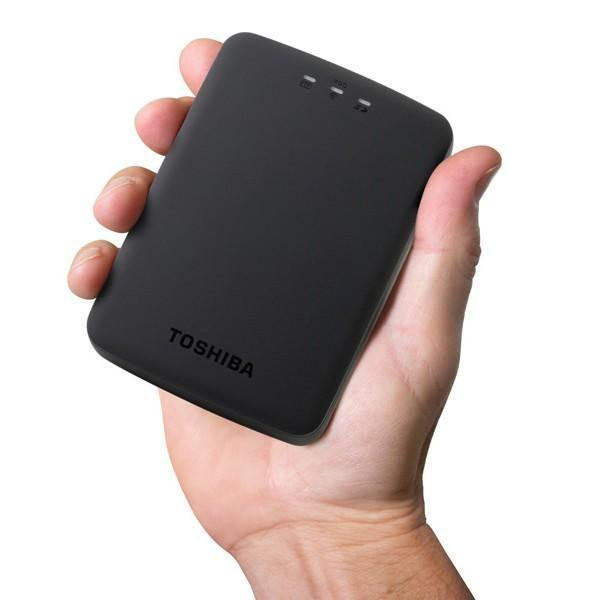 為Chromecast而生,東芝發佈Canvio AeroCast無線硬碟