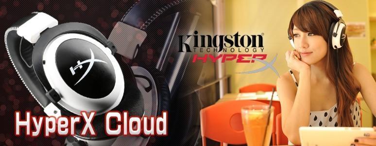 HyperX Cloud 耳機時尚潮流好聲音- Kingston 金士頓