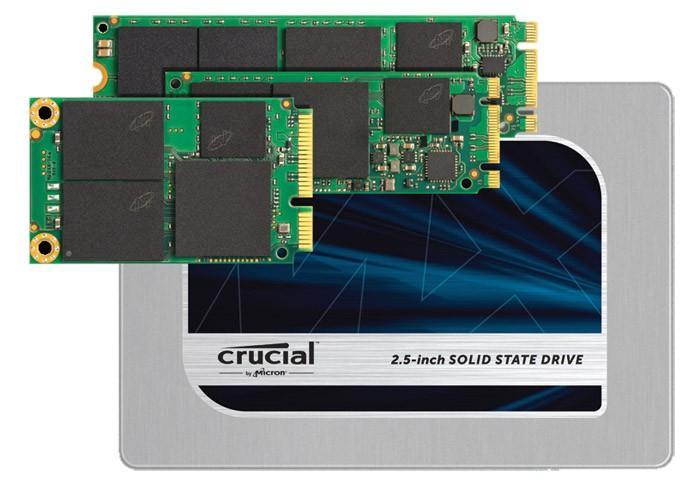 [CES2015]鎂光M600的零售版,Crucial發布MX200、BX100兩款SSD