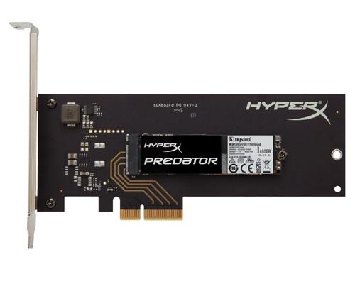 HyperX頂級效能PCIe固態硬碟 新品亮相