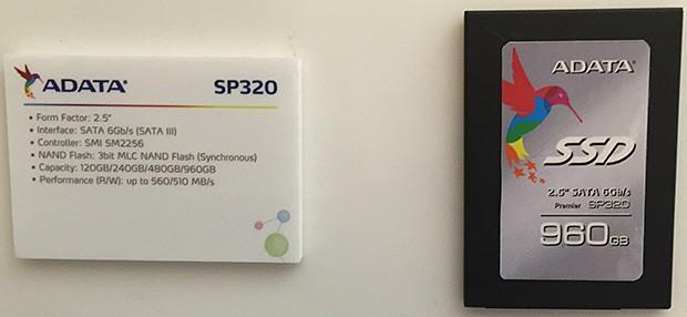 """[CES2015]威剛推型號為""""SP320""""的新固態硬碟"""