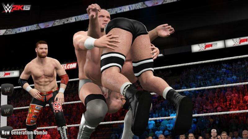 2K宣布新的《WWE 2K15》下載內容