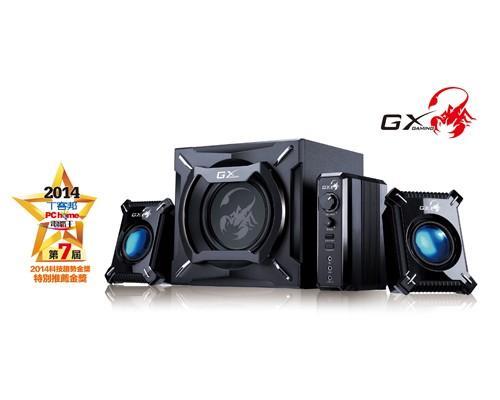 昆盈GX Gaming冷冽懾蠍電競喇叭組榮獲2014科技趨勢金獎