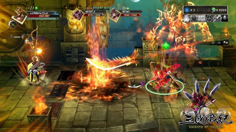 PlayStation®4『三國戰紀』首關魔王電玩展PlayStation®攤位現身!