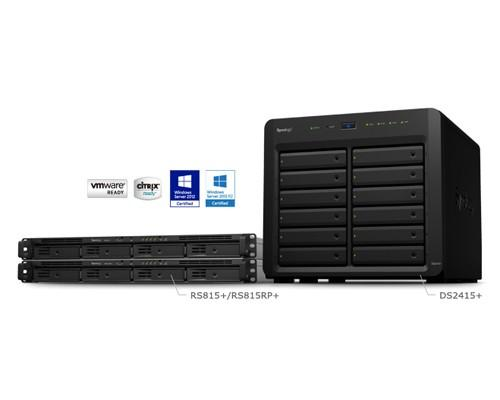 Synology推出新款RS815+、RS815RP+ 與 DS2415+ NAS