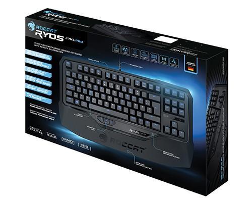 ROCCAT Ryos TKL Pro 機械式電競鍵盤輕巧上市