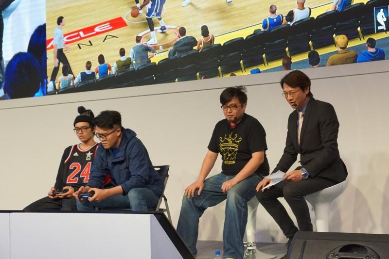 《NBA 2K15你的時代挑戰賽》台北電玩展 總冠軍出爐,藝人「黑人」擔任頒獎嘉賓