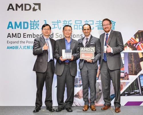 AMD攜手QNAP在台展出搭載AMD嵌入式G系列SoC NAS系統