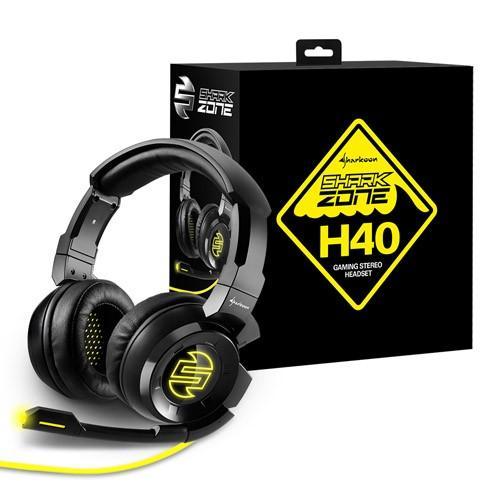 旋剛Sharkoon鯊魚特區再添新血, 隆重推出狂風者 SHARK ZONE H40電競耳機