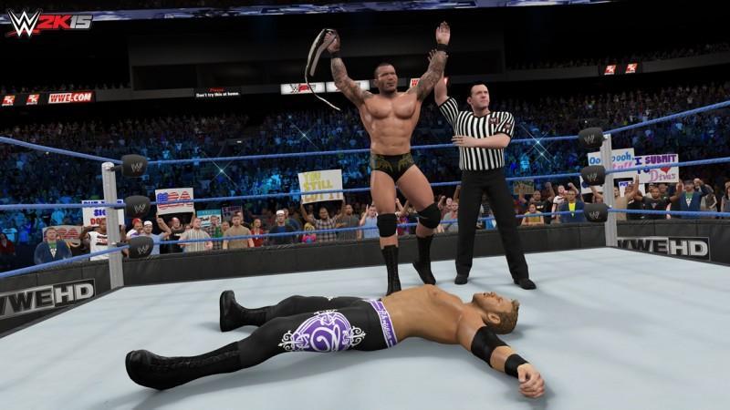 2K宣布今天推出《WWE 2K15》的「2K表演賽」下載內容