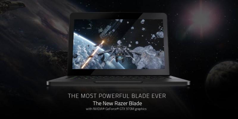 RAZER BLADE 遊戲筆電帶來前所未有的強悍效能