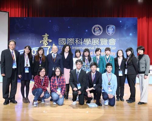 「臺灣國際科學展覽會」選出代表參加英特爾國際科學展(Intel ISEF)