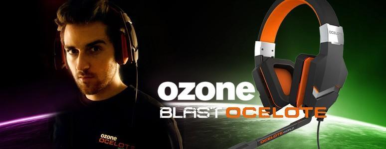 [XF] 低調中帶有熱血電競氣息- OZONE BLAST OCELOTEWORLD電競耳麥