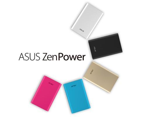 華碩推出行動電源ASUS ZenPower 超嗆電力,掌中稱王
