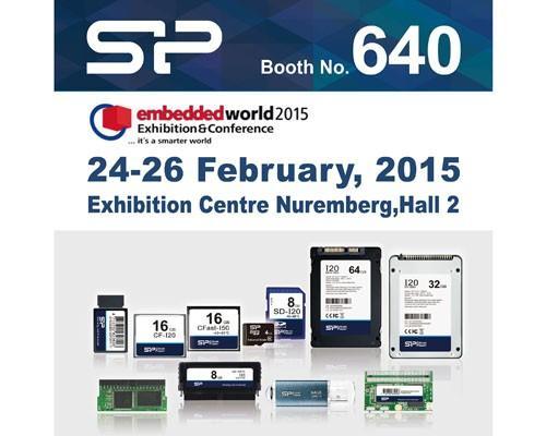 SP廣穎電通將於德國2015 Embedded World展示全方位工控系列產品