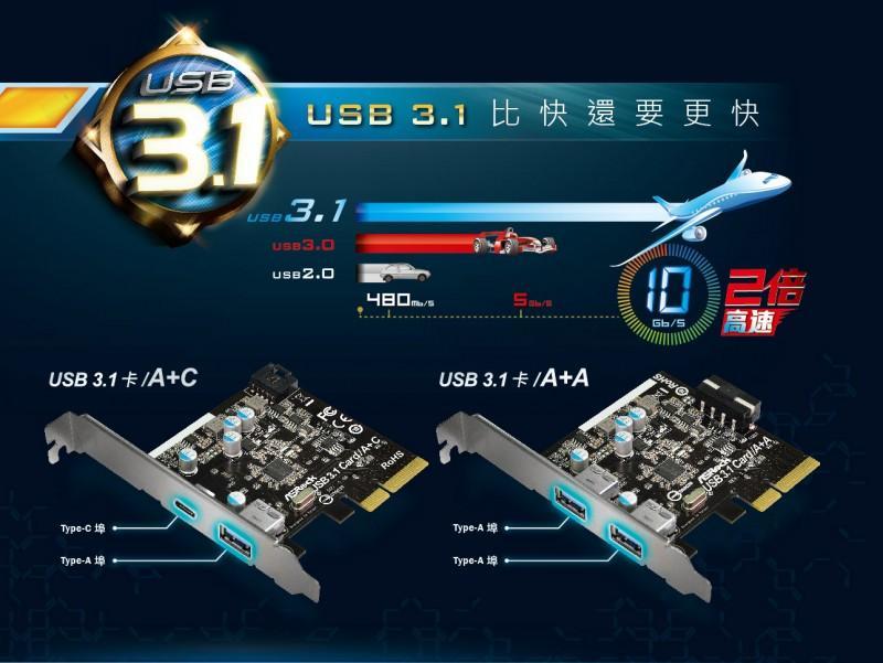 擎引爆USB 3.1 Type-C新世代 X99/Z97主機板瞄準10Gb/s傳輸極速