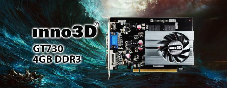 [XF] 新品牌新嘗試-入門級Inno3D GT730 4GB DDR3效能實測