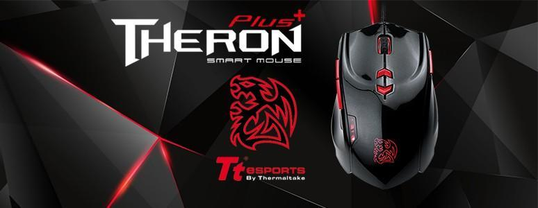 [XF] 酷炫再進化-TT eSPORT Theron Plus Smart Mouse閃獵智能電競滑鼠