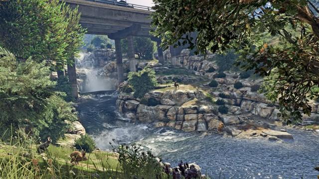 全新 PC 版 Grand Theft Auto V 《俠盜獵車手5》遊戲畫面截圖釋出