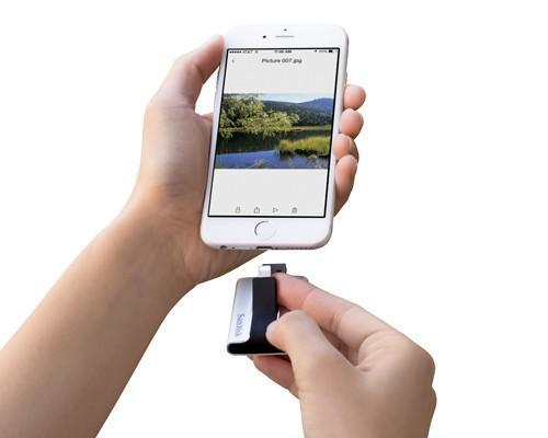 SanDisk釋放行動裝置上照片及影片的儲存空間