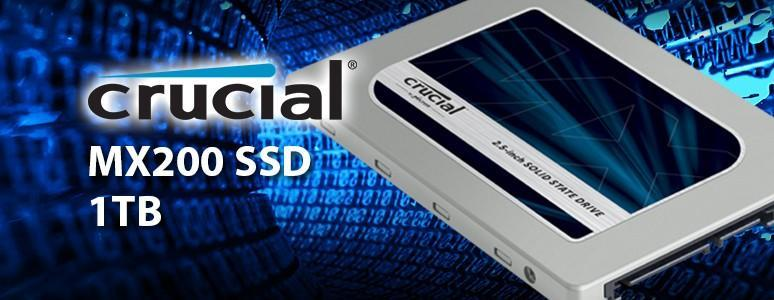 新一代MX系列固態硬碟上市!!Crucial MX200 SSD 1TB開箱測試