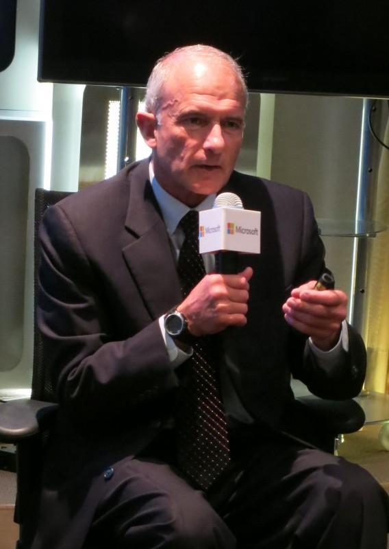 微軟全球策略計畫副總裁柯提斯訪台 建議政府資安防護三大要務