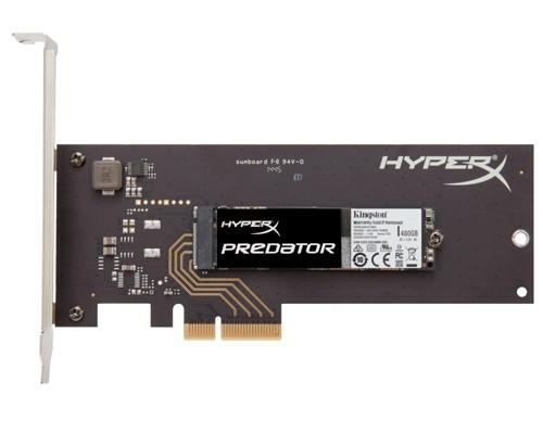 HyperX最高效能PCIe SSD 全新上市