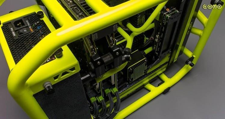 【Case Mod】防滾籠的逆襲之鋼彈格納庫D-Frame mini