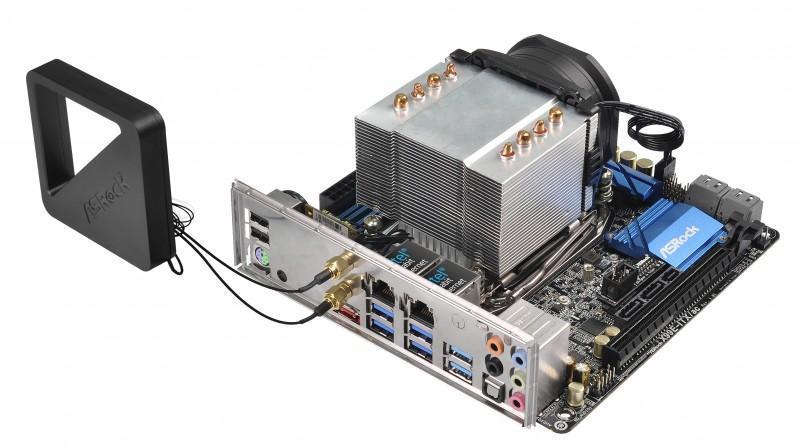 X99全球唯一Mini-ITX主機板 華擎X99E-ITX/ac轟動問世