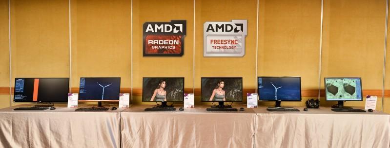 AMD攜手重量級合作夥伴 首次在台展出FreeSync顯示器及 虛擬實境創新技術