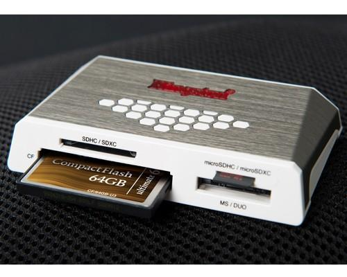 Kingston第四代高速讀卡機、64GB 600X CF卡同步上市