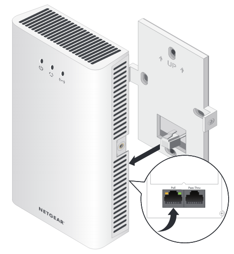 NETGEAR推出壁掛式Thin AP-WN370,可直接鎖上美規插座,無需破壞原有裝潢
