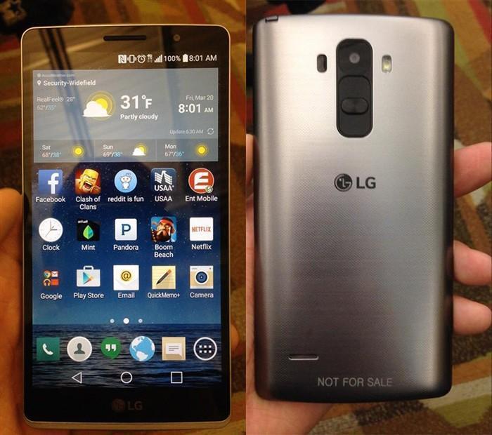 LG G4參數曝光:5.5寸2K螢幕/3GB記憶體/16MP,處理器竟是驍龍808
