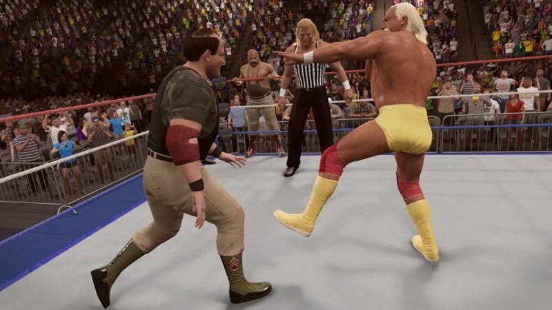WWE名人堂巨星Ultimate Warrior的《WWE 2K15》故事取向內容現已推出!