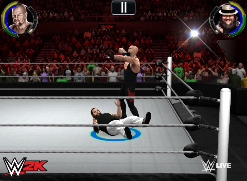 2K宣布替行動裝置開發第一款WWE模擬電玩遊戲《WWE 2K》