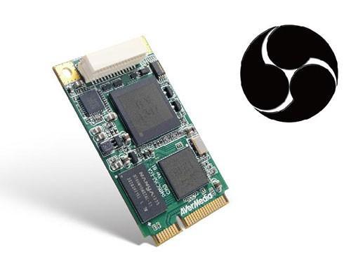 支援OBS? 圓剛DarkCrystal HD Capture Mini-PCIe可以做到