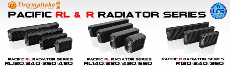 曜越首發Pacific RL & R水冷排雙系列,挑戰散熱極限