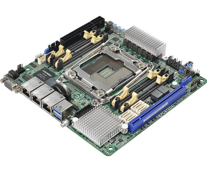 雙通道不爽?華擎這次拿出了支持四通道的 LGA2011v3 ITX主機板