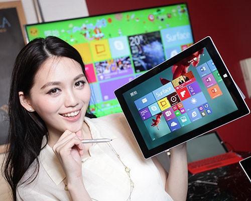 Surface 3正式在台開賣 與全球10個首波市場同步上市!