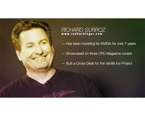 曜越力邀美國MOD改裝達人Richard Surroz,精湛《Level 10 鈦金版》機殼改裝工藝即將來台展演