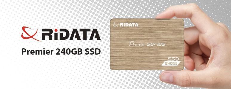 [XF]RiDATA Premier 240GB SSD評測