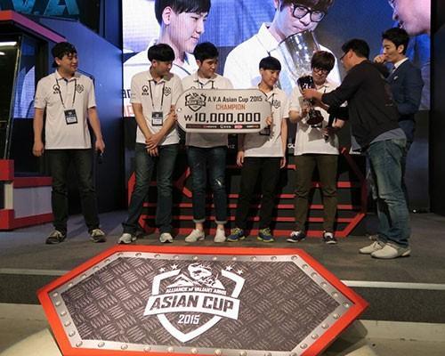 《A.V.A戰地之王》2015 AAC亞洲盃 韓國奪冠