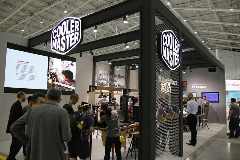 CoolerMaster 酷碼科技 Computex 2015 攤位採訪