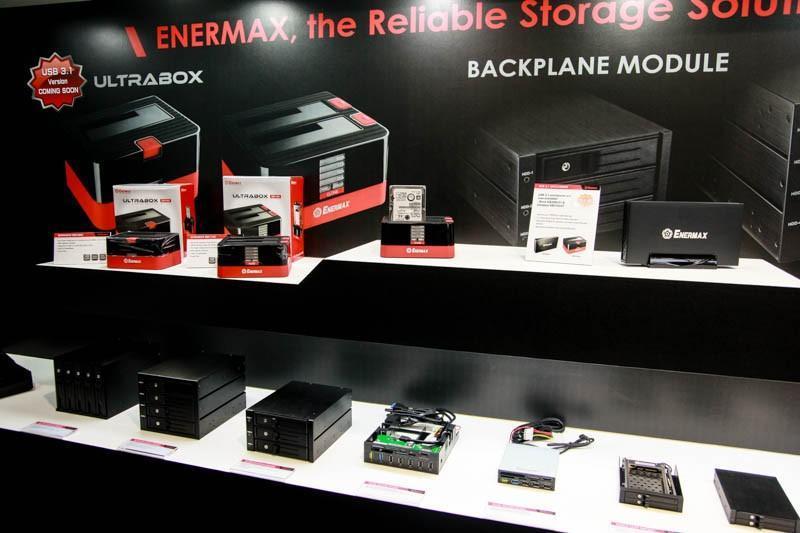 Enermax 安耐美 Computex 2015 攤位資訊