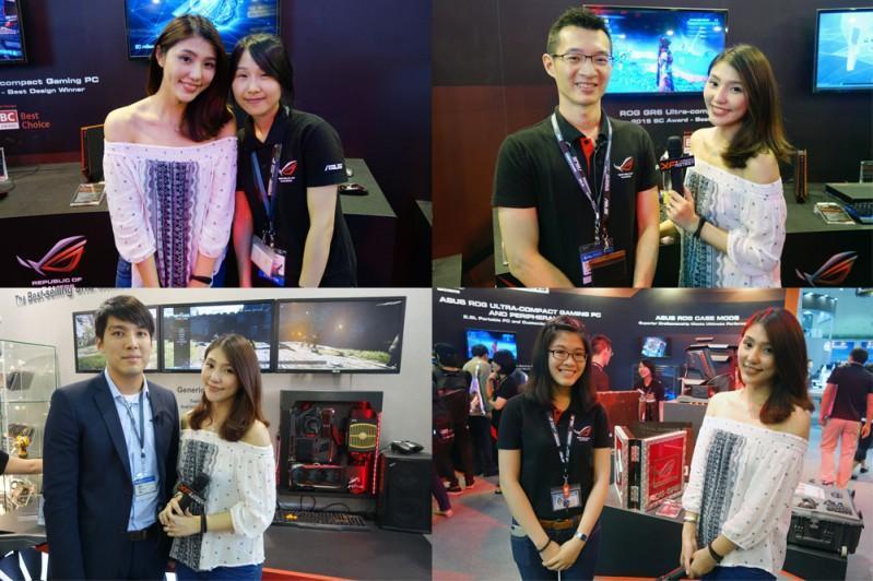 ASUS 華碩 @ Computex 2015 台北國際電腦展 影音專訪